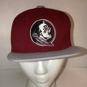 Florida State Seminoles Hat Red And Gray Youth